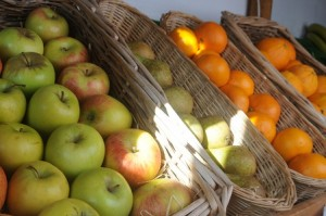 Good healthy fruit from our shop, west wales